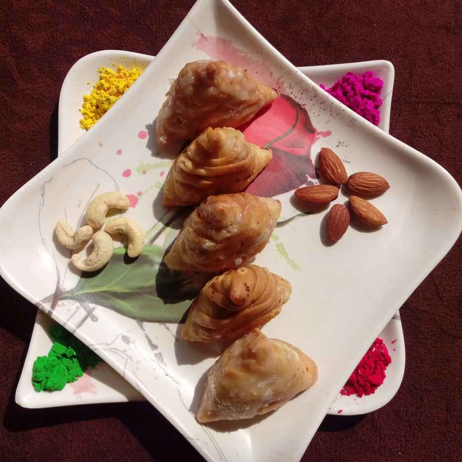 Photo of Sweet samosa by Piyali polley Roy at BetterButter
