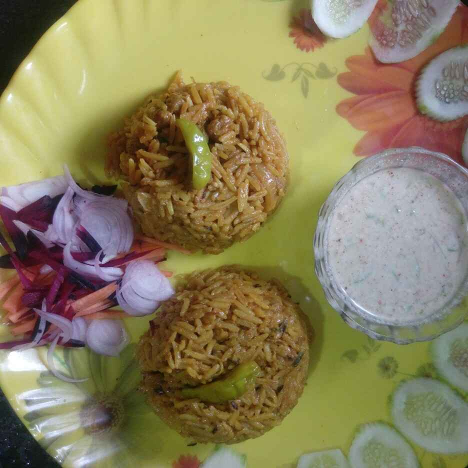 Photo of Soya chunks polau by Piyali polley Roy at BetterButter