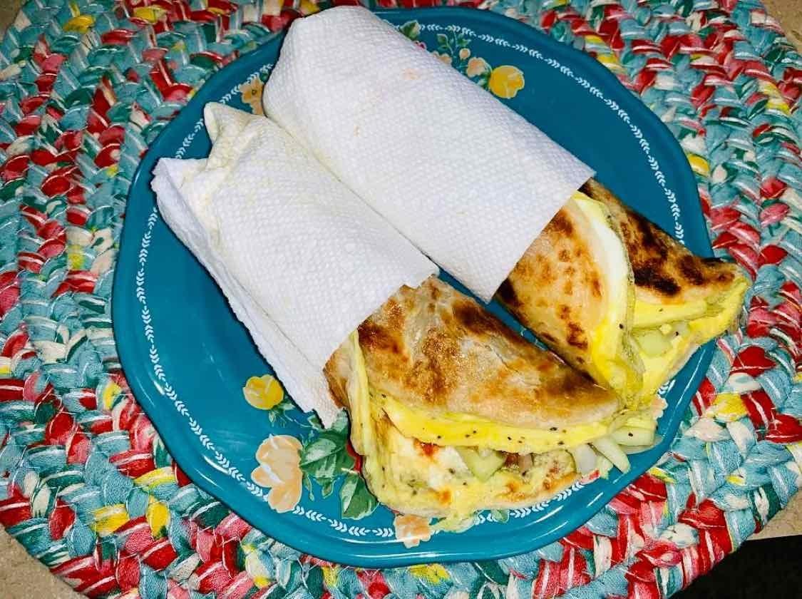 How to make Egg Roll in Kolkata style.