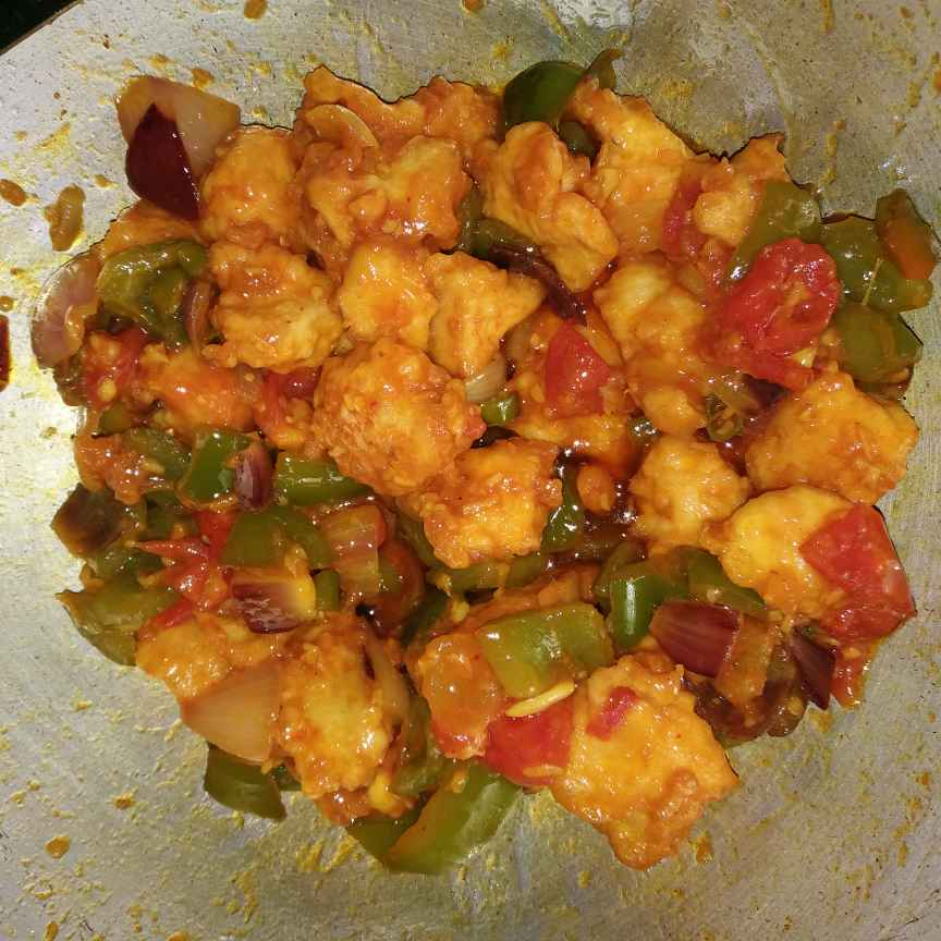 Photo of Dry chili chiken by Piyasi Biswas Mondal at BetterButter