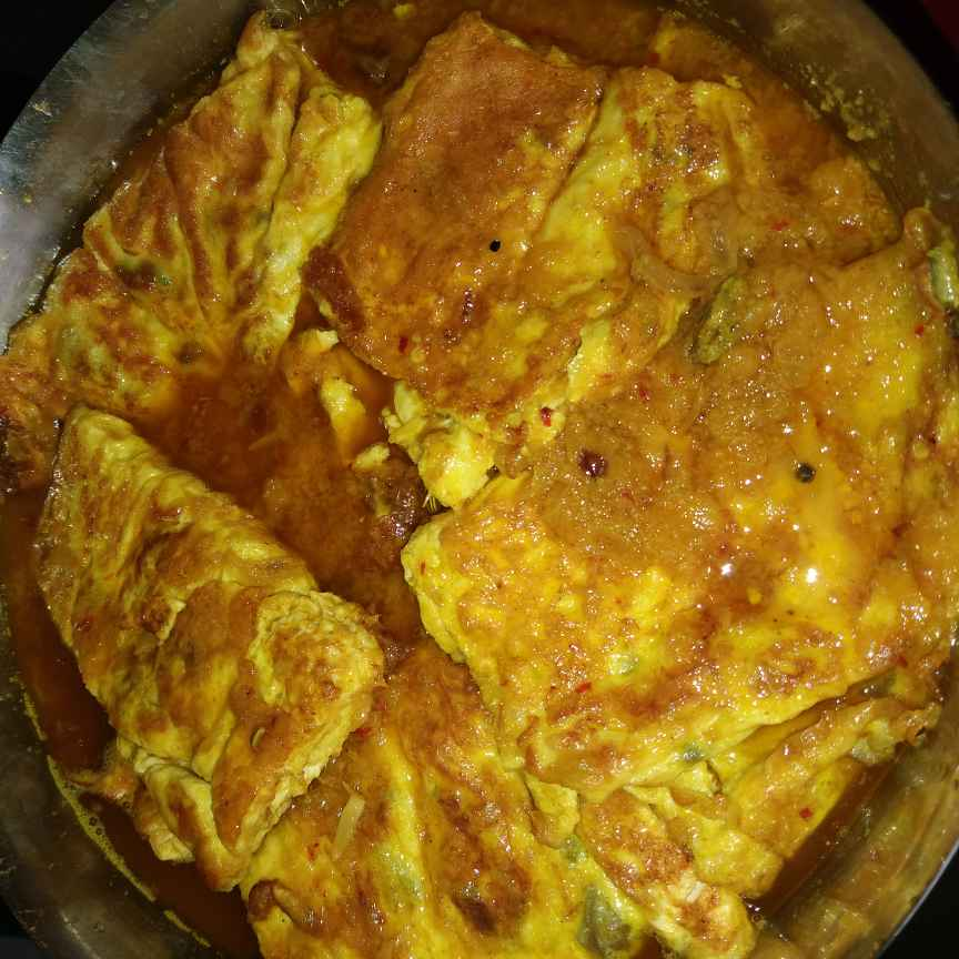How to make Omlet curry