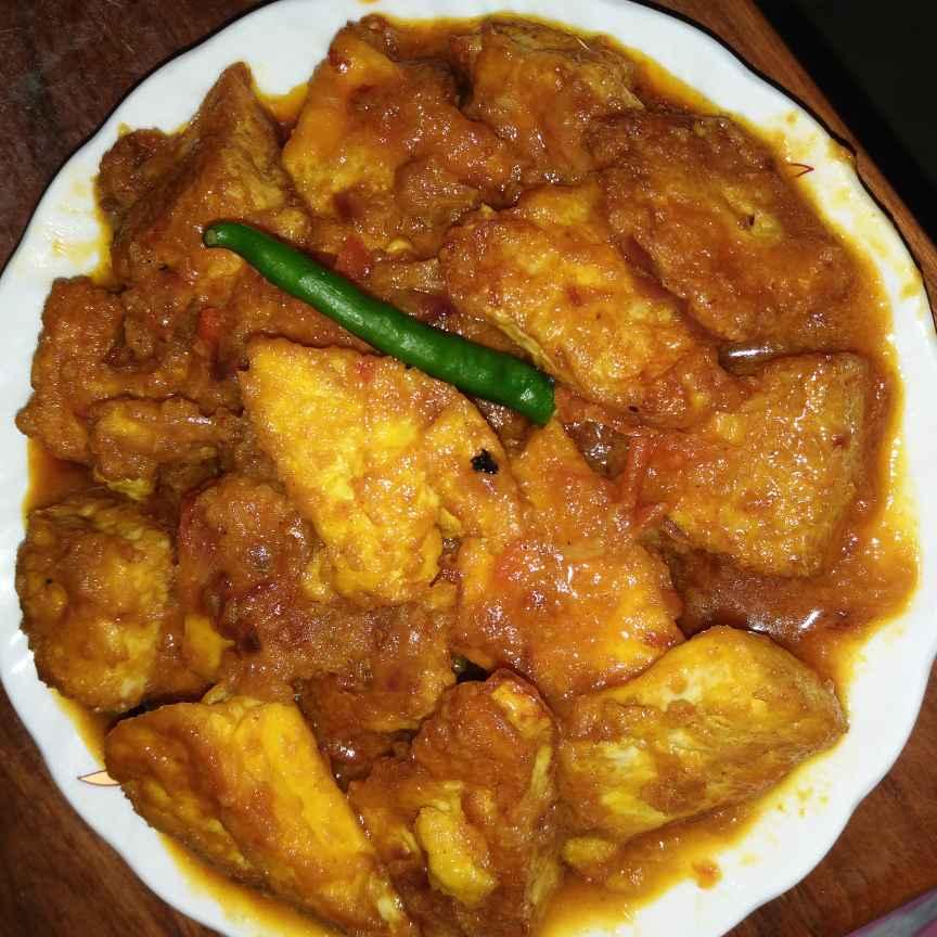 Photo of Steamed egg paneer kaliya by Piyasi Biswas Mondal at BetterButter