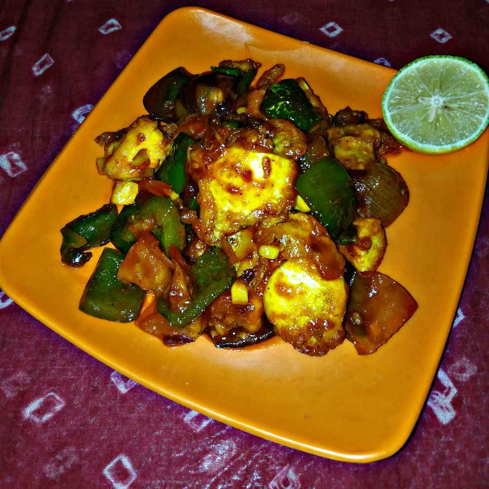 Photo of Egg Capsi chilli by Piyasi Biswas Mondal at BetterButter