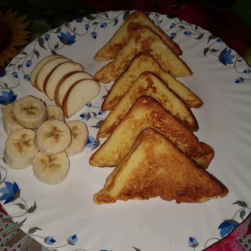 Photo of Egg Fruit French Toast by Piyasi Biswas Mondal at BetterButter