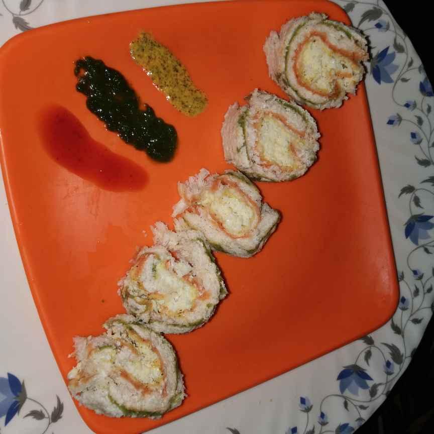 Photo of Egg pinwheel Sandwich by Piyasi Biswas Mondal at BetterButter