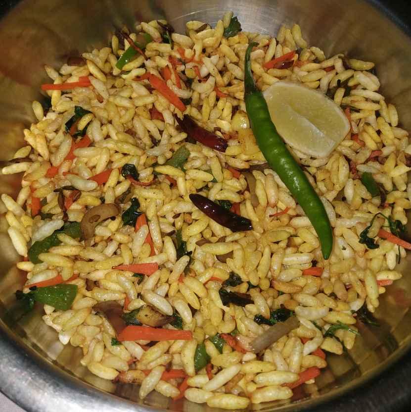 How to make Yellow masla muri