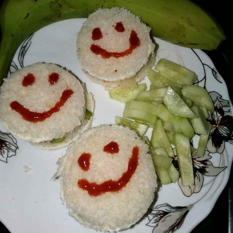 Photo of Happy smiley Sandwich by Piyasi Biswas Mondal at BetterButter