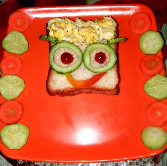 Photo of Roti Sandwich Bento by Piyasi Biswas Mondal at BetterButter