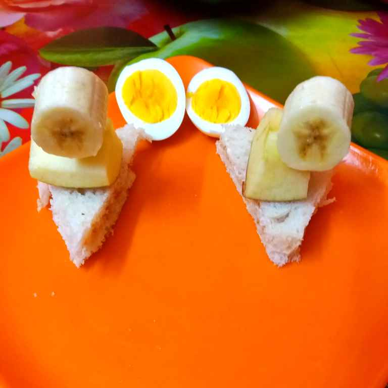 Photo of Mini Sandwich with egg and Boiled egg by Piyasi Biswas Mondal at BetterButter