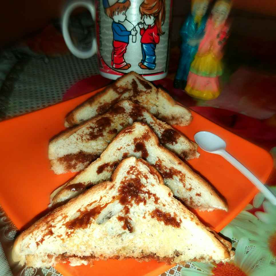 Photo of Chocolate Sandwich by Piyasi Biswas Mondal at BetterButter