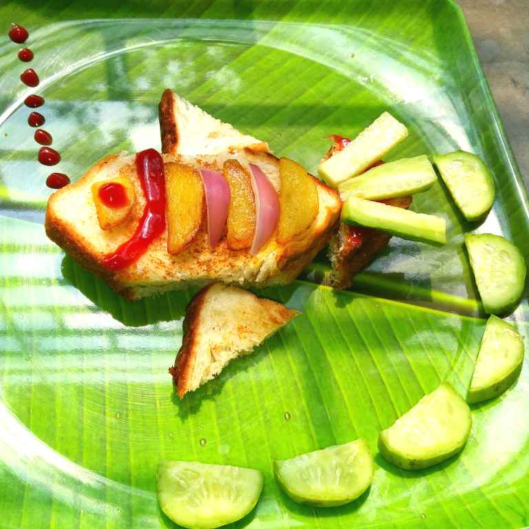 Photo of Fish Sandwich by Piyasi Biswas Mondal at BetterButter