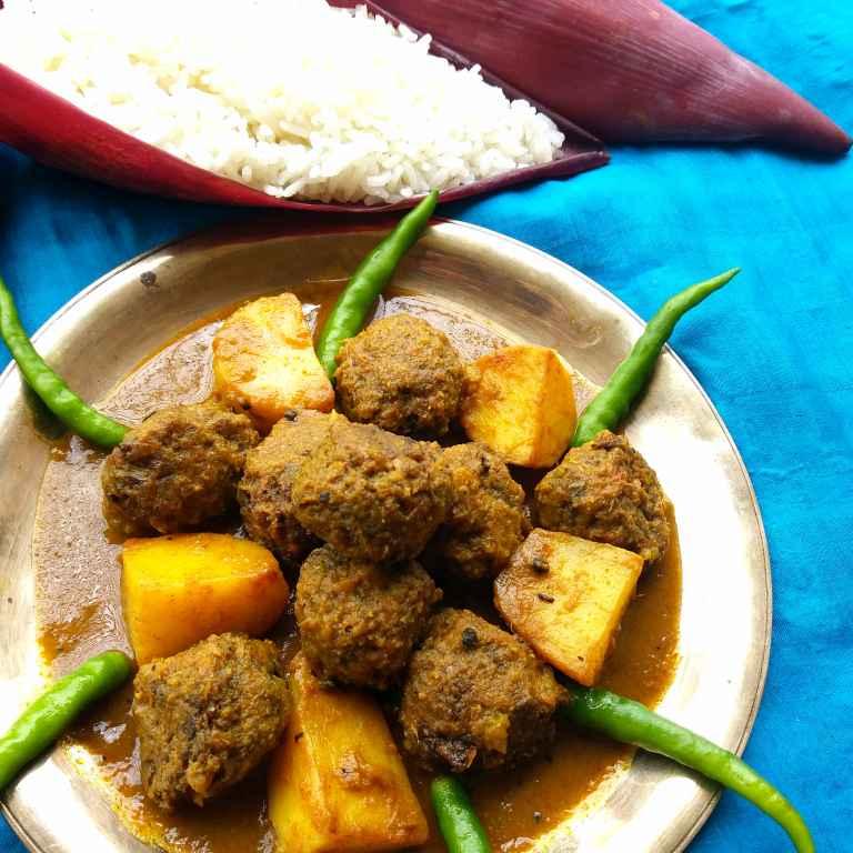 How to make Mochar Borar Tarkari