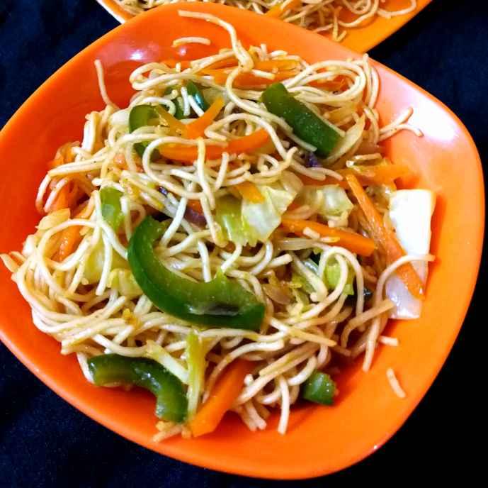 Photo of Veg hakka Noodles by Piyasi Biswas Mondal at BetterButter