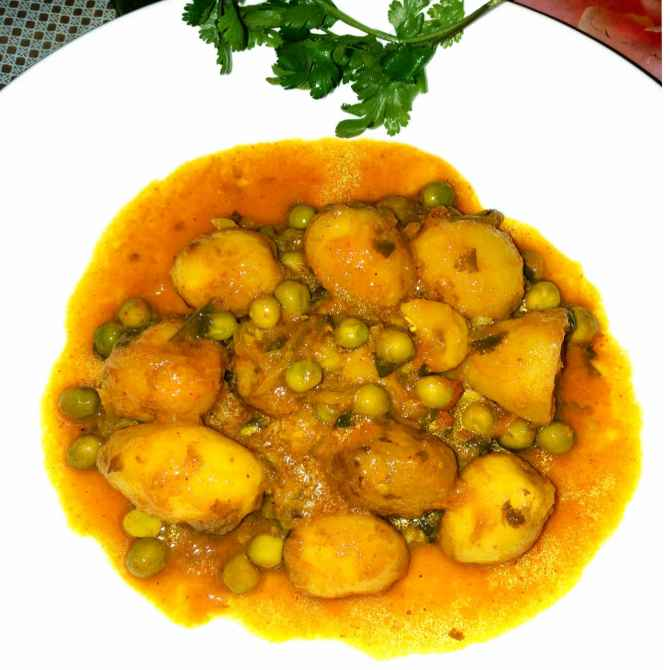 Photo of New beby potato curry by Piyasi Biswas Mondal at BetterButter