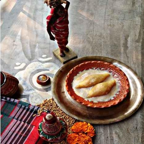 Photo of Dudh Puli.... by Piyasi Biswas Mondal at BetterButter