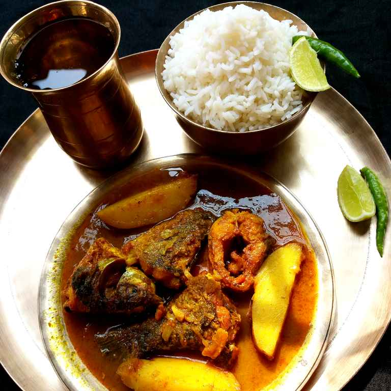 How to make Bangali Barir Macher jhol
