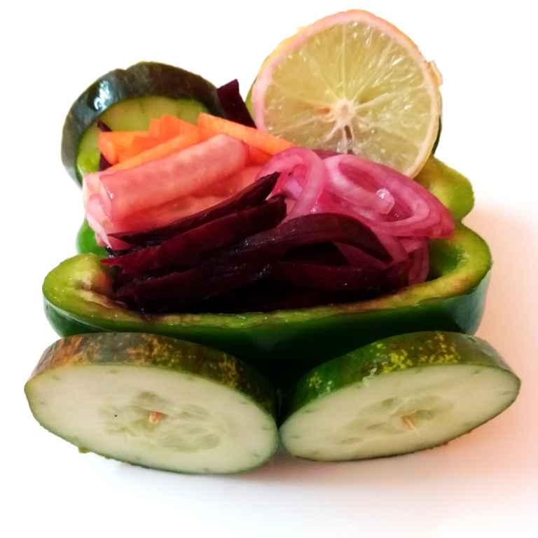 Photo of Mix veg lemon salad car by Piyasi Biswas Mondal at BetterButter