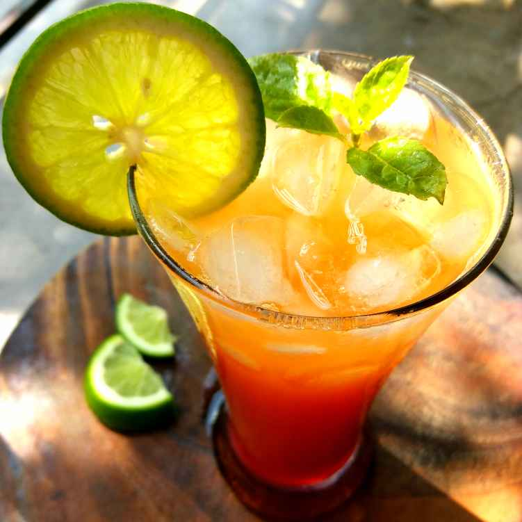 Photo of Sunrise Moctail by Piyasi Biswas Mondal at BetterButter