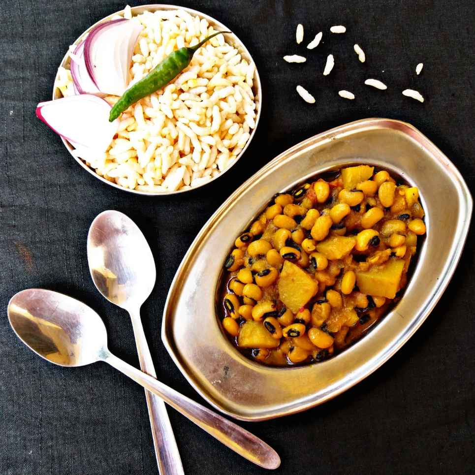 Photo of Lobia curry by Piyasi Biswas Mondal at BetterButter