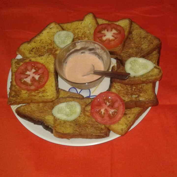 Photo of spicy bread toast by poly bhowmick at BetterButter