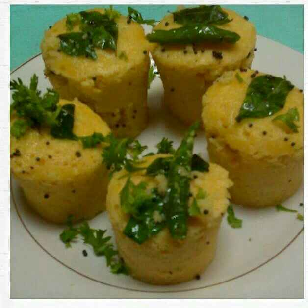 How to make Microwave Dhokla in 4 minutes
