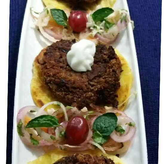 How to make Rajma Galouti Kebab with Sheermal and Dhaba Salad.
