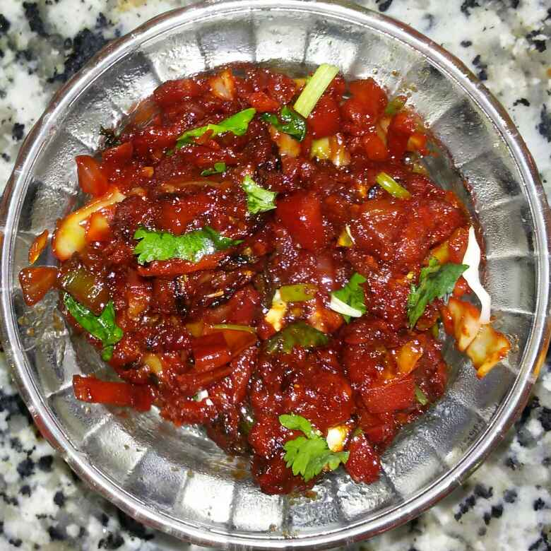 How to make Vag manchurian