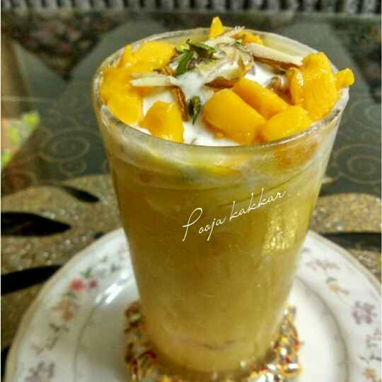 Photo of Mango Mastani by pooja kakkar at BetterButter