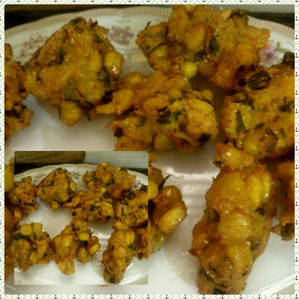 How to make Corn pakora