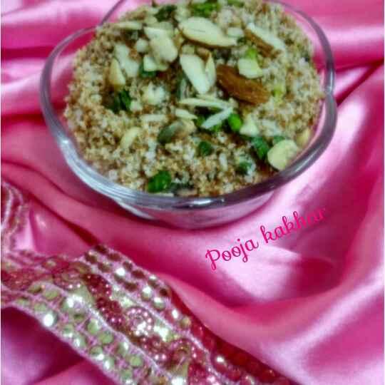 Photo of Bachi hui bread crumbs se bna - bread choorma by pooja kakkar at BetterButter