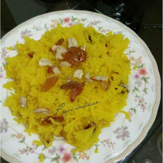 How to make मीठे चावल