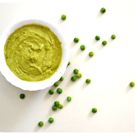 How to make Green peas dip/ sauce