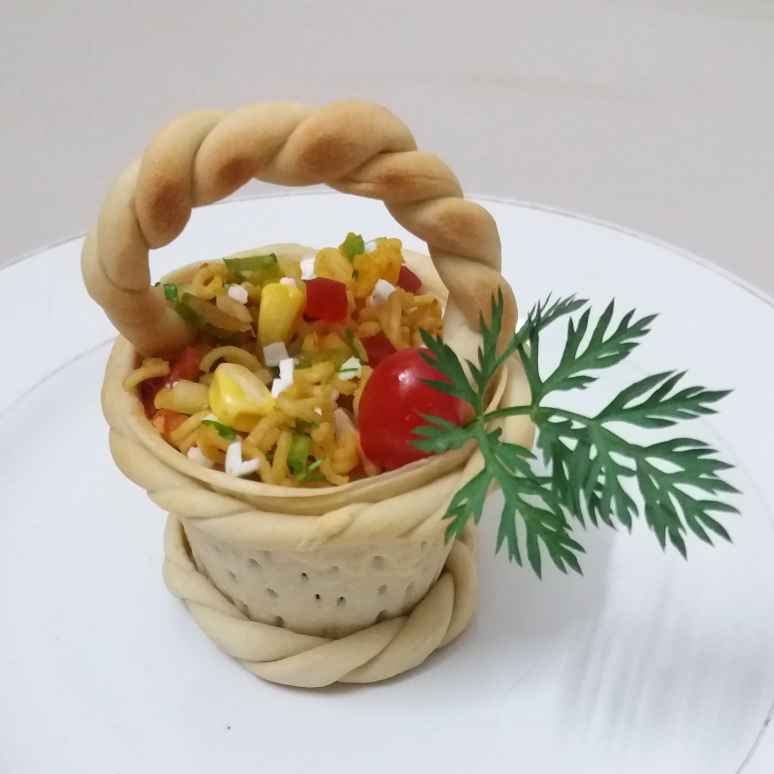 How to make MAGGI BHEL BASKET