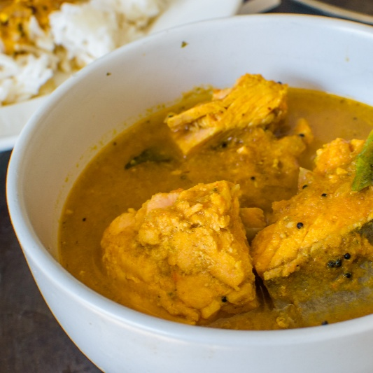 How to make South Indian Style Fish Curry