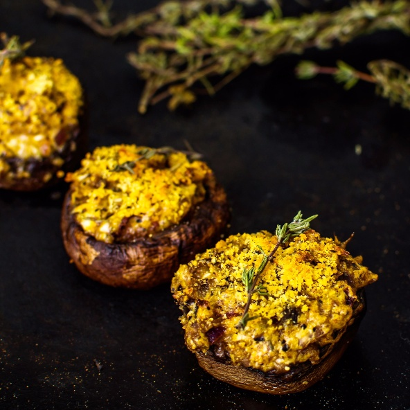 Photo of Stuffed Mushroom Caps by Pooja Nadkarni at BetterButter