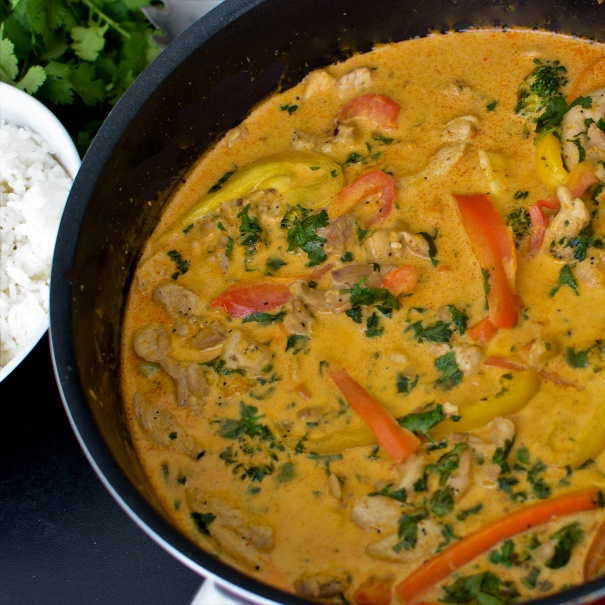 How to make Red Thai Chicken Curry