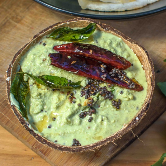How to make COCONUT CHUTNEY