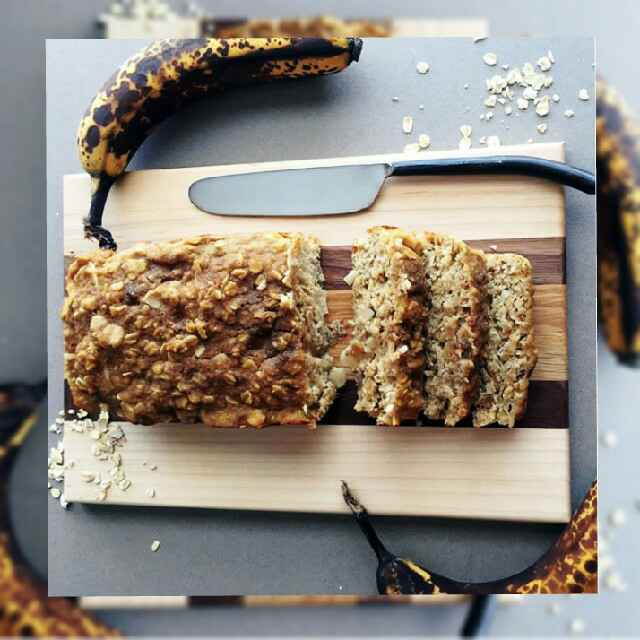 How to make Banana oats bread