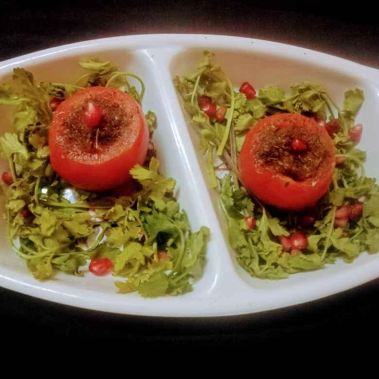 How to make Tomato chutney with garlic and coriander