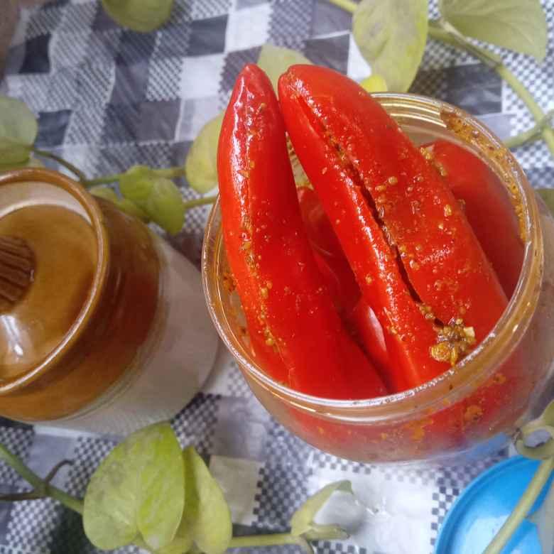 Photo of Sattu stuffed mirchi by Poonam Arora at BetterButter