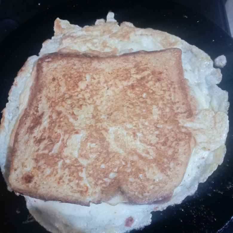 How to make अंडा ब्रेड के साथ