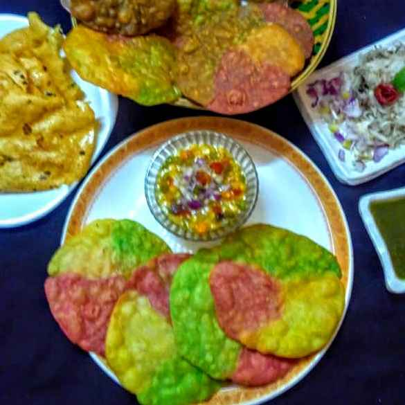 Photo of Tricolor Dal pakwan by Poonam Arora at BetterButter