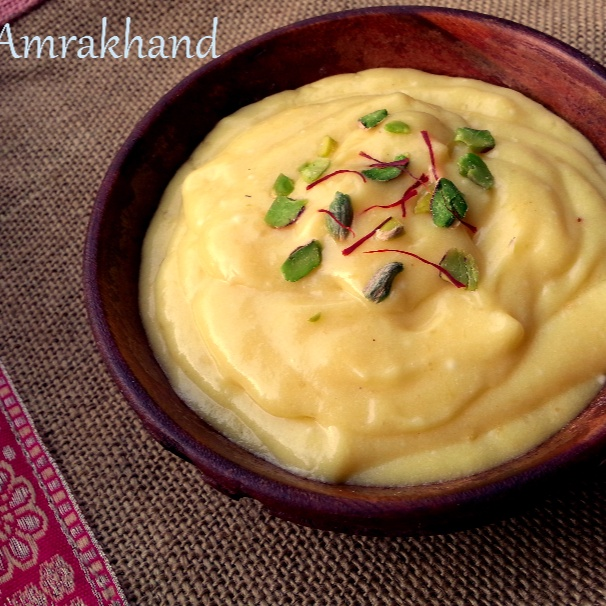 Photo of Amrakhand / Mango Shrikhand by Poonam Bachhav at BetterButter