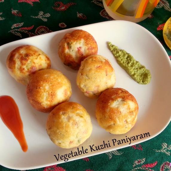 Photo of Vegetable Kuzhi Paniyaram by Poonam Bachhav at BetterButter
