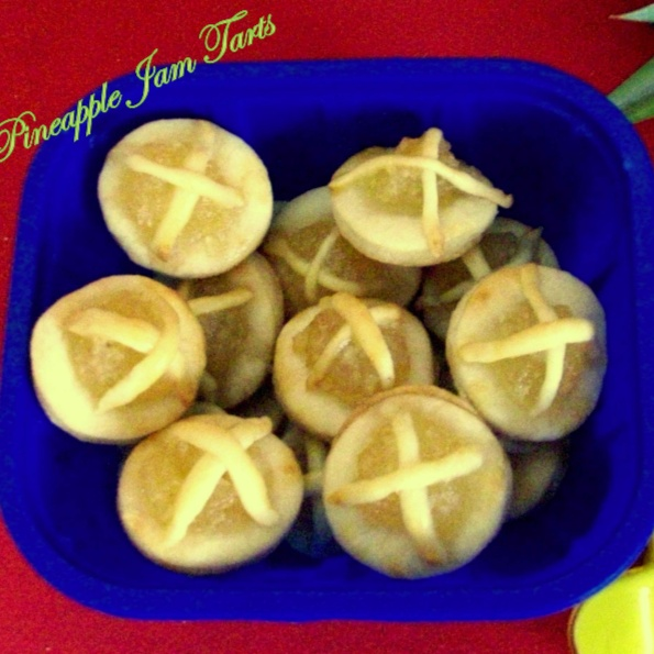 Photo of Pineapple Jam Tarts / Malaysian Cuisine by Poonam Bachhav at BetterButter