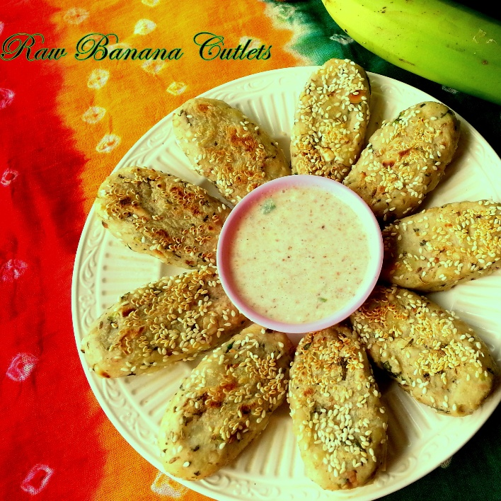 How to make Raw Banana Cutlets