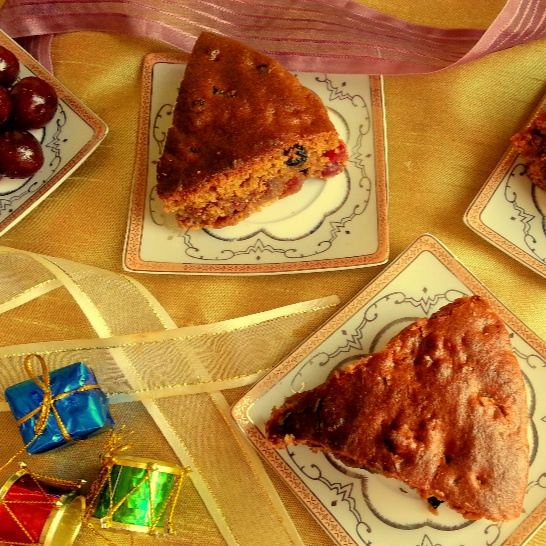 How to make Eggless Christmas Plum Cake