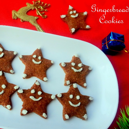 How to make Egg-less Butter-less Gingerbread Cookies