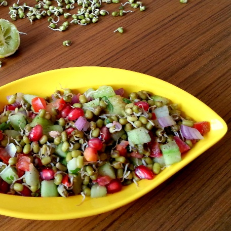 How to make Moong Sprout Salad Recipe