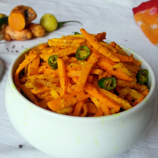 Photo of Instant Fresh Turmeric Pickle by Poonam Bachhav at BetterButter